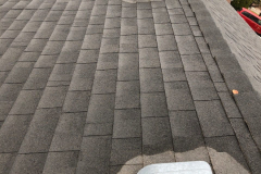 Incorrectly installed roof vent flashing